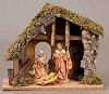 "5"" Starter 3PC w/Stable (4pc) Nativity,54690"