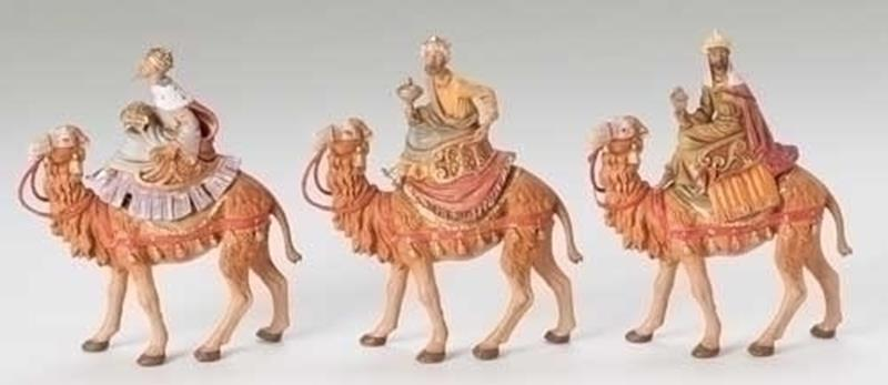 "5"" Three Kings on Camels,71514"