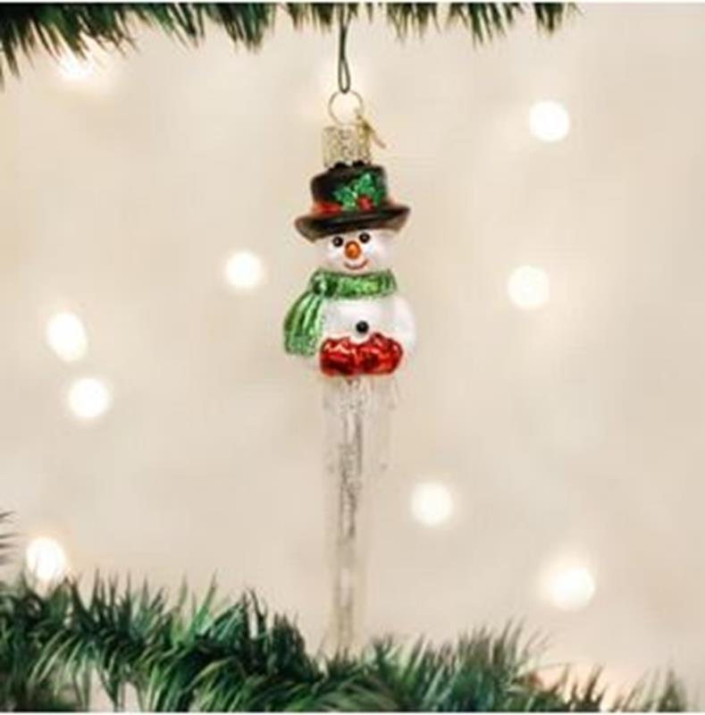 Icicle Snowman,24048