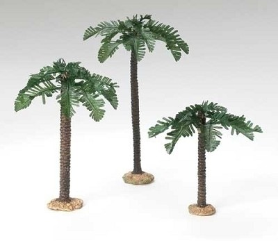 "3pc set Palm Trees for 5"",56572"