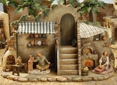 """5"""" Lited Pottery/Bakery 3pc (Retired),54638"""