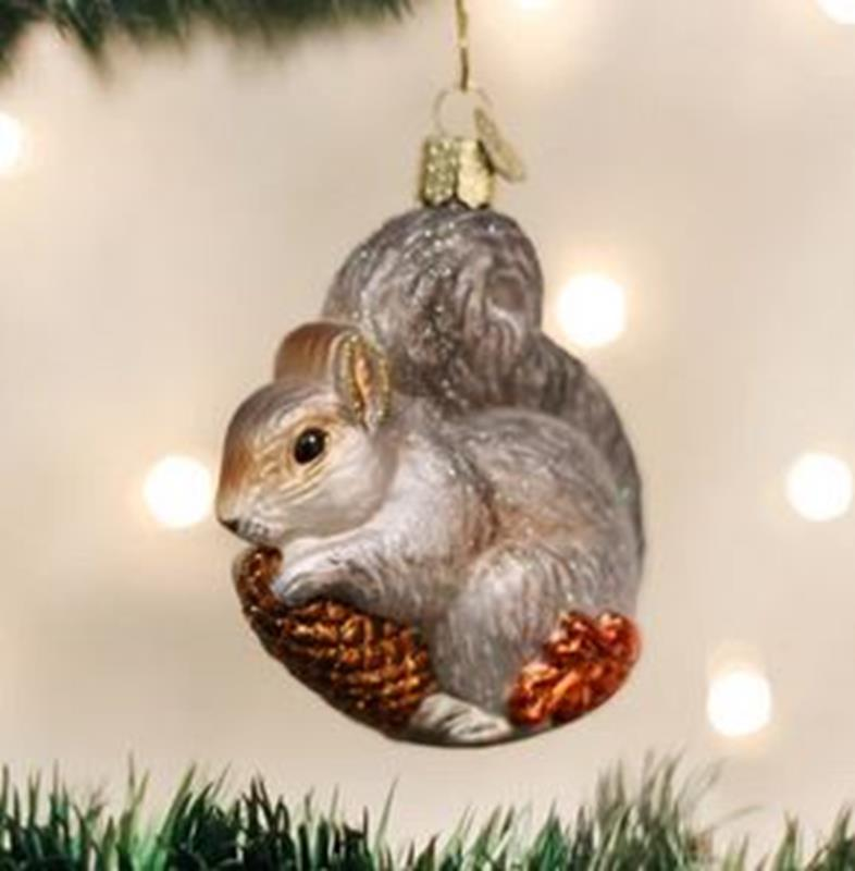 Hungry Squirrel Ornament,12277