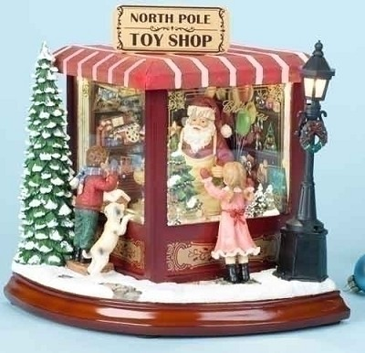 Santa's North Pole Toy Shop Musical,35178
