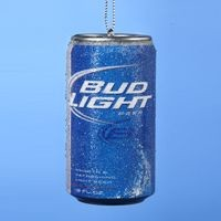 Bud Light Beer Can Ornament,AB1111