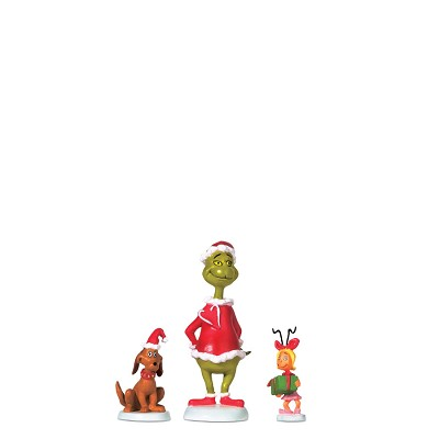 Grinch & Max & Cindy Lou Who,804152