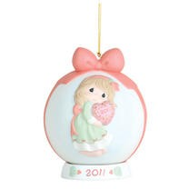 Best Gift Ball Ornament was dated 2011,111003