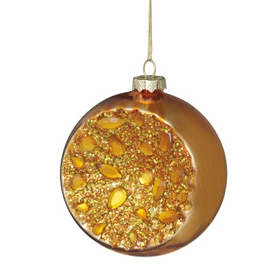 Gold Witches Eye Ornament,555651