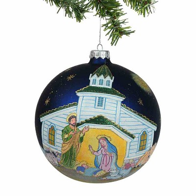 Nativity Village Jumbo Ball Orn.,4036383
