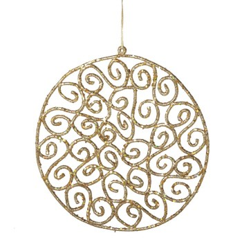 Gold Wall Ornament,072998