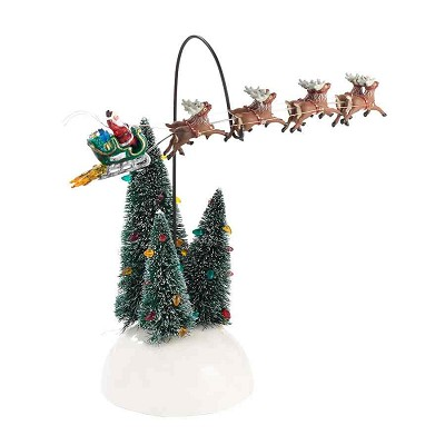 SV Animated Flaming Sleigh,4030744