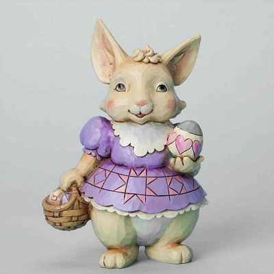 Pint Size Bunny with Basket,4037675