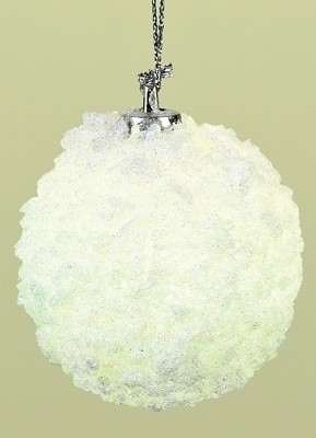 LED Snowball Ornament,34968D