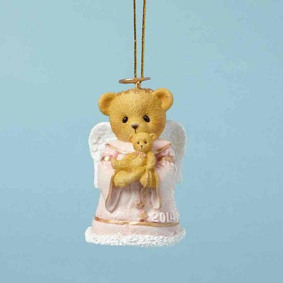 2014 Dated Angel Bell Bear Orn.,4040459
