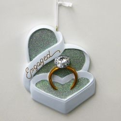 Engaged Ring Ornament,D2216