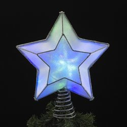 LED Shimmering Star Treetopper,UL4274